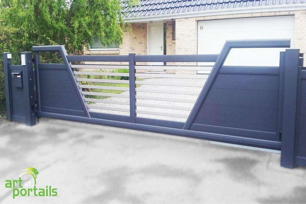 Le portail Aluminium