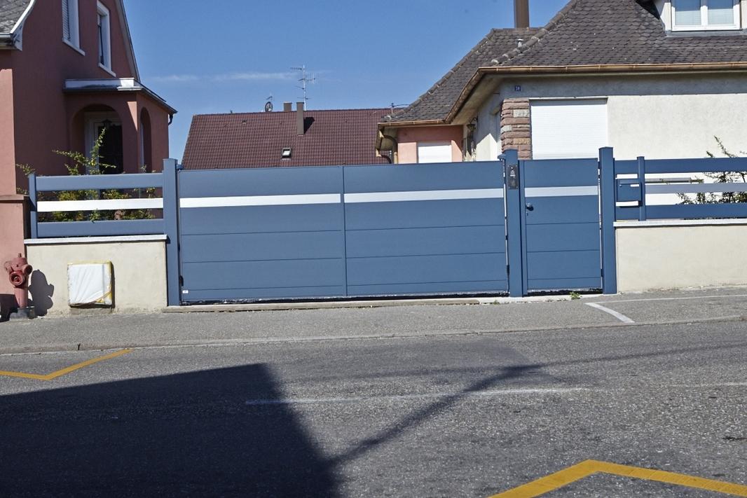 Portail et clôture aluminium