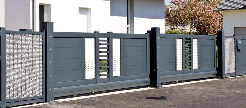 Portail design : une configuration pour chaque maison
