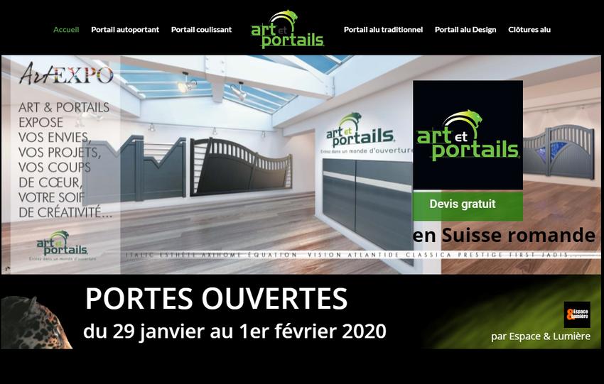 Portes Ouvertes Art et Portails 2020