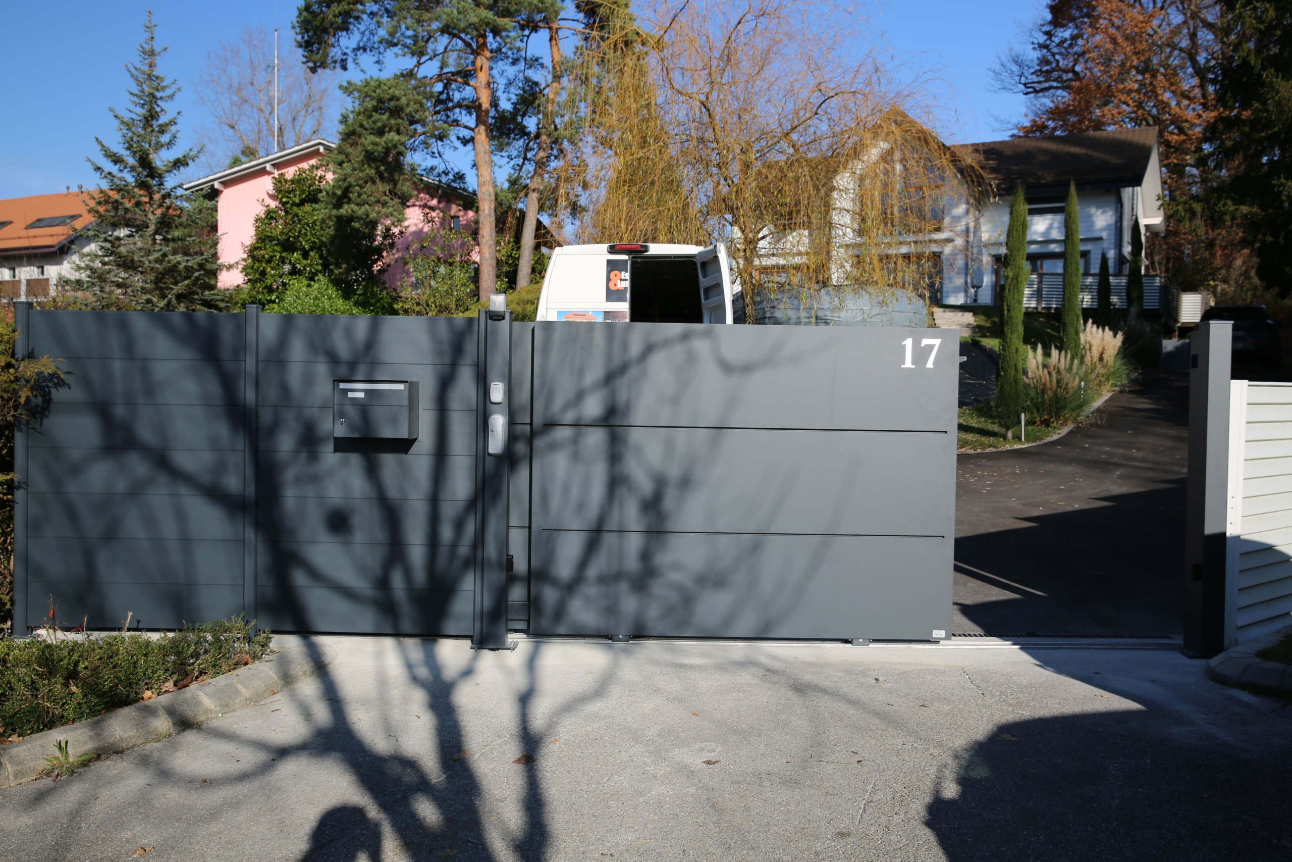 Portail télescopique en Suisse