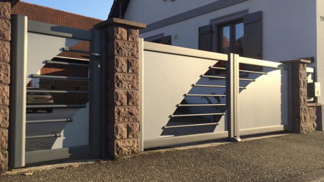 Comment nettoyer son portail en aluminium ?