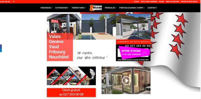 Nouveau Site Internet pour le Canton du Valais