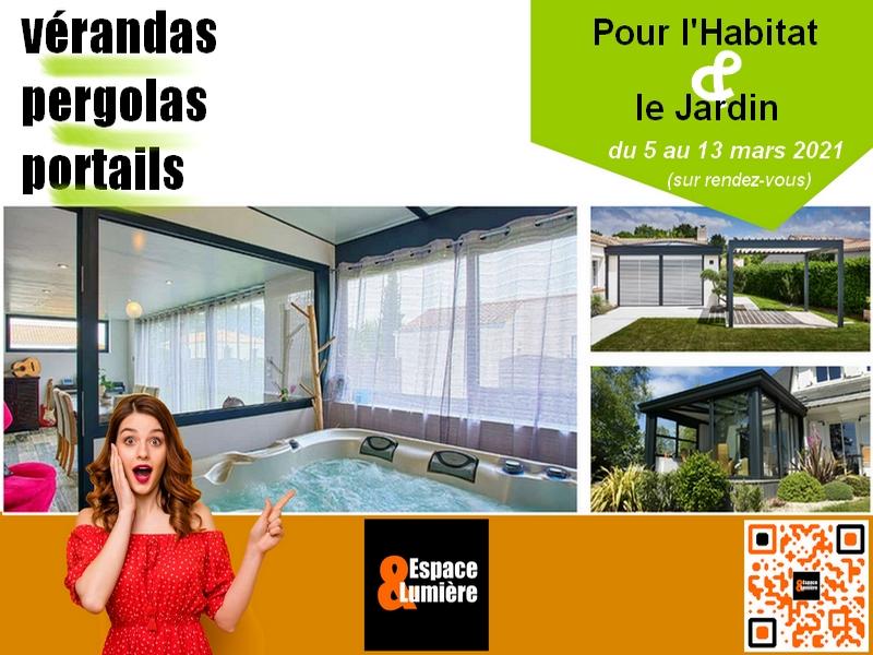 Pour l'Habitat & le Jardin 2021 : Portails et Vérandas soldés