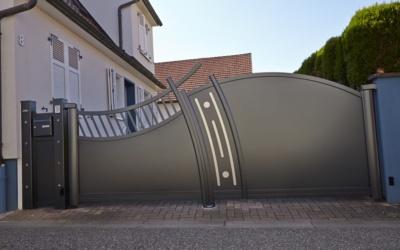 Un Portail Aluminium D'Exception en Suisse Romande